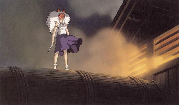 la princesa mononoke  Hayao Miyazaki2