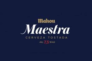 Maestra, la nueva cerveza tostada de doble lúpulo de Mahou
