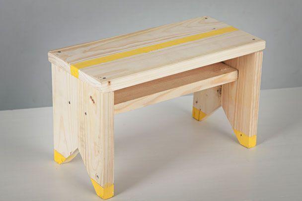 muebles hipster de madera