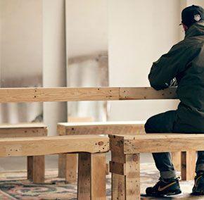 Madera, reciclaje y diseño: los muebles de Federico Luis