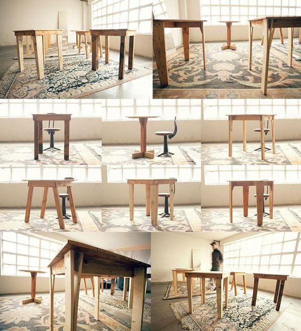 Madera reciclaje y dise o los muebles de federico luis for Diseno de muebles de madera