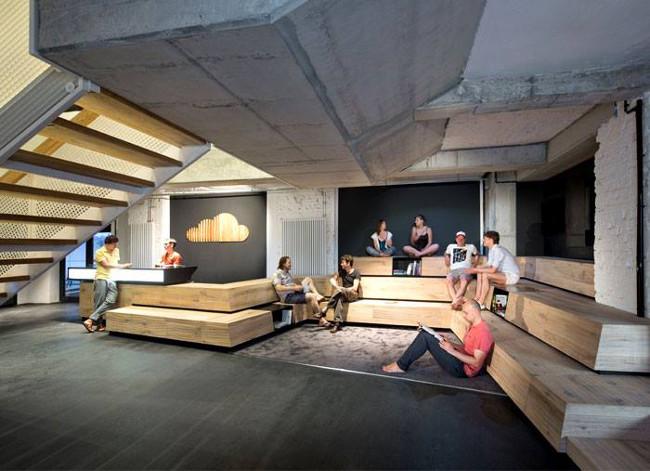 oficinas de soundcloud en Berlín