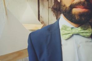 Las bodas de primavera – verano son para los accesorios de SoloIo (pajaritas, corbatas y pañuelos)