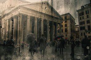 La belleza y melancolía de la lluvia capturada en fotografías