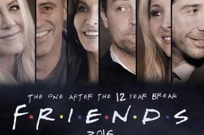 Reunión de Friends en el homenaje a Burrows