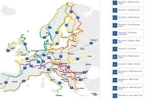 Europa conectada en bici a lo largo de 43 países