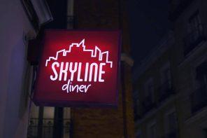 La cocina de Skyline Diner Madrid ya huele a Navidad