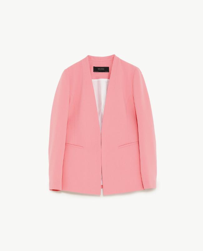 Moda Para En Rosa Ropa ZaraLa El De Traje 2018 Primavera wkiOZTPuX