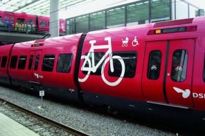 Los trenes para bicicletas de Copenague