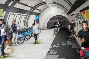 Rutas para ciclistas en el metro de Londres