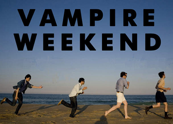 Vampire Weekend posed. NME 02/08/2008