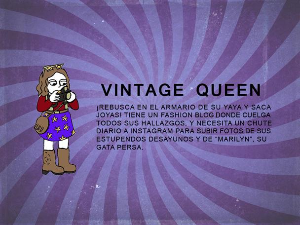 vintage queen estereotipos hipster