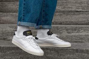 Las zapatillas blancas de Adidas para el verano son las Adidas Lacombe