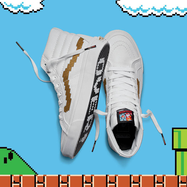 zapatillas vans super mario bros 3