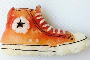 Zapatillas y sushi, tus dos pasiones unidas en el Instagram de Yujia Hu