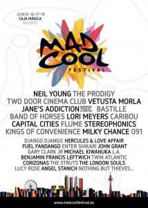 Cartel Mad Cool Festival 2016